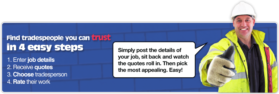 Find tradespeople you can trust